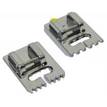 Calcador Janome 200317009 para Friso e Nervura para Sulcos Rasos 2 peças 777064 -