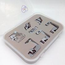 Calcadores para viés e bainha - kit com 7 - Para todas as máquinas domésticas - Milamak