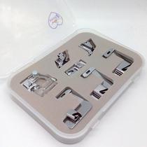 Calcadores para viés e bainha - kit com 7 - Para todas as máquinas domésticas Milamak