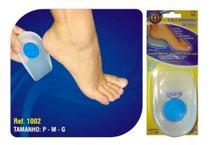 Calcanheira de silicone azul act ion sport  tamanho m - orthopauher -