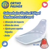 Calcanheira vertical siligel tendon protect 2 em 1 ref. 2800 - ortho pauher - Orthopauher