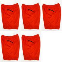 Calção(short) com bolso lateral dry 5 peças - masculino - esporte agatha -