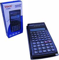 Calculadora cientifica 10 dígitos com capa 16x8cm - Yins