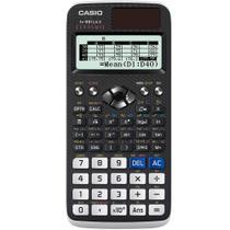 Calculadora Científica Casio 553 Funções, Visor Natural, Dígitos 10+2, Alimentação Solar e Bateria - FX-991LAX -