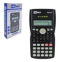 Calculadora Científica Display LCD 2 Linhas 240 funções - Mbtech mb54324 -