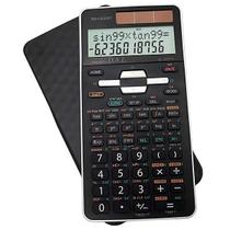 Calculadora Científica Sharp EL-506TSB-BW com 470 Funções - Preta/Branca -