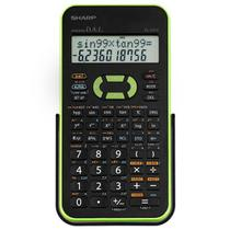 Calculadora Científica Sharp EL-531XB-GR com 272 Funções - Preta/Verde -