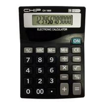 Calculadora com 12 Dígitos Chip 1600 -