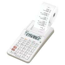 Calculadora com bobina hr-8rc-bk-b-dc display 2.0 branca Casio