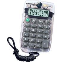 Calculadora de Bolso 8 DIG. PC033 Transparente - Procalc