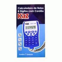 Calculadora de Bolso KAZ KZ5003 Com Cordão -