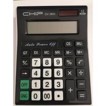 Calculadora de Mesa 12 Dígitos CH 3862 - Chip