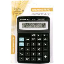 Calculadora de Mesa 12DIG. PC730 Preta - GNA