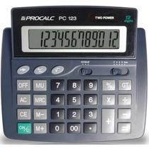 Calculadora De Mesa 12dig.visor Incl. Mod.pc123 Procalc Unid -