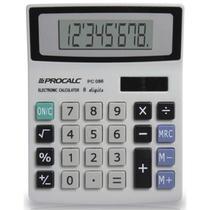 Calculadora De Mesa 8digitos Mod.pc086 Bat/solar Procalc Uni -