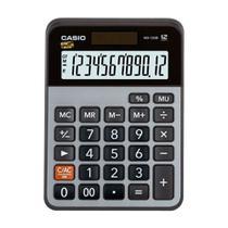 Calculadora de Mesa CASIO MX-120B 12 Dígitos Visor Grande Alimentação Solar e à Pilha Função Mark Up -
