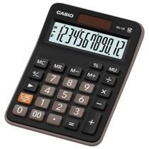 Calculadora de Mesa Casio MX-12B Preta -
