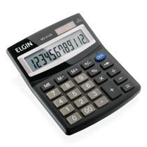 Calculadora de Mesa Elgin Visor 12 Dígitos Solar/Bateria - 42mv41240000 -
