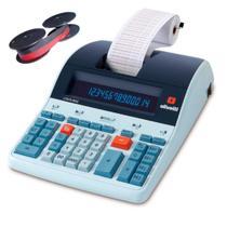 Calculadora de Mesa LOGOS 804B Olivetti Fita Nylon Bicolor -