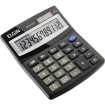 Calculadora de Mesa MV4124  Solar/Bateria - Elgin -