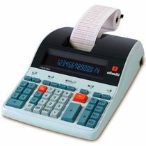 Calculadora de Mesa Olivetti LOGOS 804B 14 Dígitos, Visor LCD, Sistema Back-lit - Bivolt -
