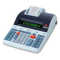 Calculadora de Mesa Olivetti LOGOS 804T 14 Dígitos, Visor LCD, Sistema Back-lit - Bivolt, Impressão térmica -