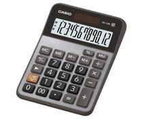 Calculadora de Mesa Pequena 12 Dígitos MX-120B-S4-DC Prata - Solar - Casio