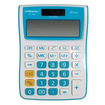 Calculadora De Mesa Procalc PC100 BL GT 12 Dígitos Azul -
