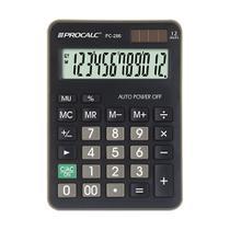 Calculadora de Mesa Procalc PC286 12 Digitos Preta - GNA