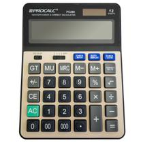 Calculadora De Mesa Procalc PC289 12 Dígitos Solar Preto -