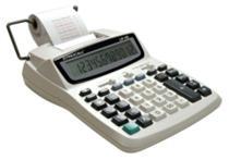 Calculadora de Mesa Semi-Profissional com Impressão e Bobina LP25 Procalc -