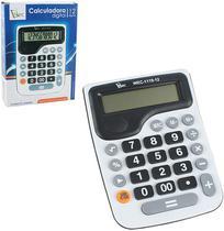 Calculadora eletrônica 12 dígitos 15x11cm - Wellmix