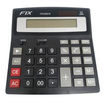 Calculadora  Eletrônica 12 Dígitos C/ Som FIX -