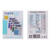 Calculadora Eletrônica 12 Dígitos Inova -Calc-7087 -