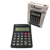 Calculadora Eletrônica 12 Dígitos KK-6193-12 Kenko -