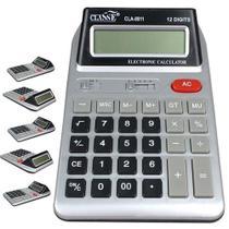 Calculadora Eletrônica 12 Digitos Visor Duplo Pilha Inclusa - Yins