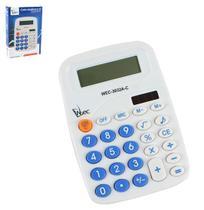 Calculadora eletrônica 8 dígitos 13x9cm - Wellmix