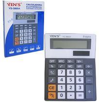 Calculadora eletrônica 8 dígitos 15x11,5cm - Yins