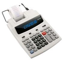 Calculadora Eletrônica de Mesa com Bobina, Visor e 12 Dígitos MR 6124 - Elgin -