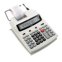 Calculadora Eletrônica de Mesa Elgin MB 6125 12 Dígitos Visor LCD c/ Bobina Velocidade de Impressão 2.03 Linhas/segundo -