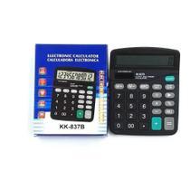 Calculadora Eletrônica Kk-837b De Mesa Portátil 12DG - Kenko