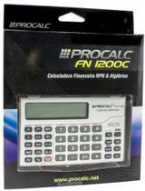 Calculadora Financeira Fn1200c Procalc -