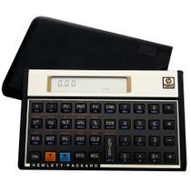 Calculadora Hp 12c Gold - Financeira - Visor Lcd 120 Funções -