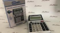 Calculadora MBtech 12 Dígitos C/ Detetor de Nota 2 VISOR -