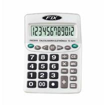 Calculadora media 12 digitos  fxc2519 / un / fix -