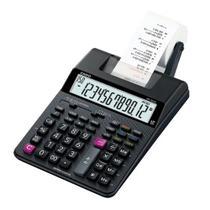Calculadora mesa c/impress. hr-100rc-bk  casio -
