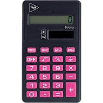 Calculadora Pop Office Preta/Rosa - Summit