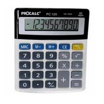 Calculadora Procalc Mesa 10 Dígitos PC120