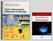 Cálculo E Administração  Medicamentos  + Terminologia Enfermagem - Editora martinari