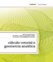 Calculo Vetorial E Geometria Analitica - Lexikon